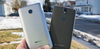 OnePlus y Meizu