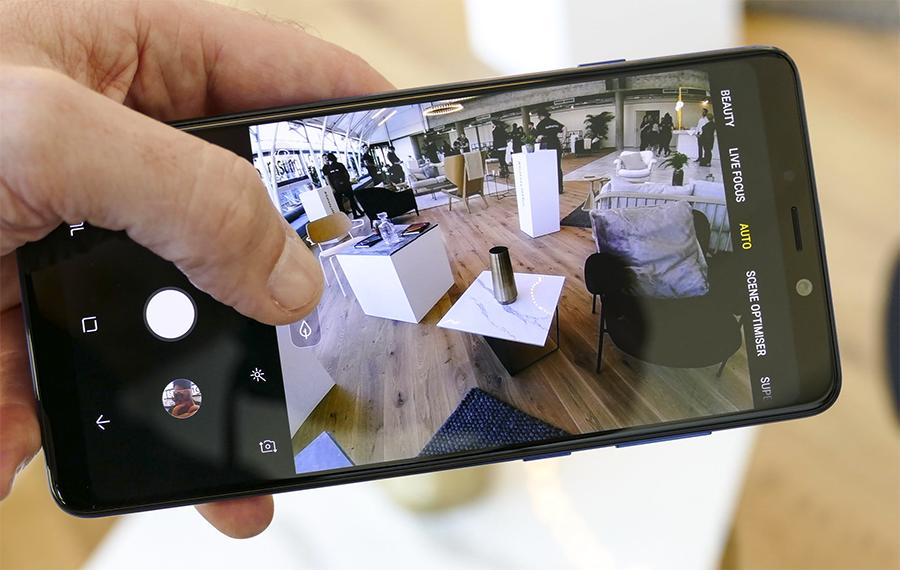 Samsung Galaxy A9 Cam