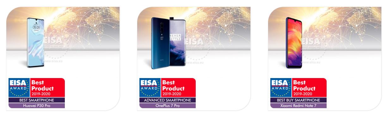 EISA Winners