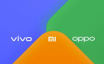 Vivo Xiaomi Oppo