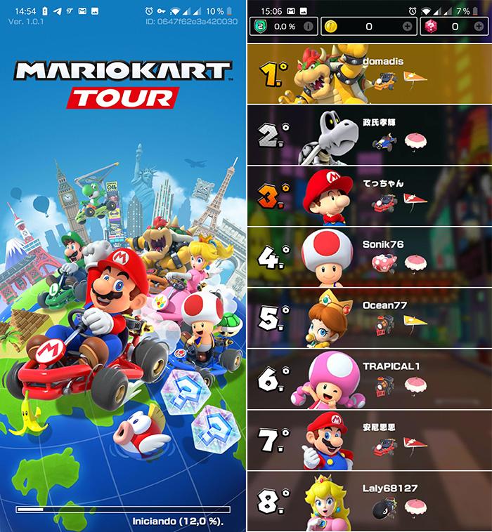 juego MKT Nintendo