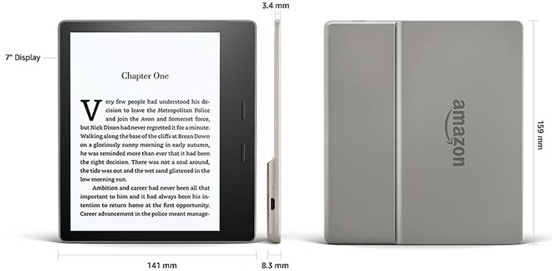 Diseño Kindle Oasis