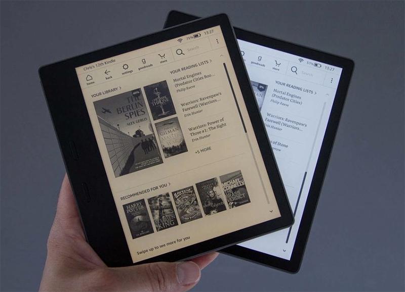 luz cálida Kindle oasis
