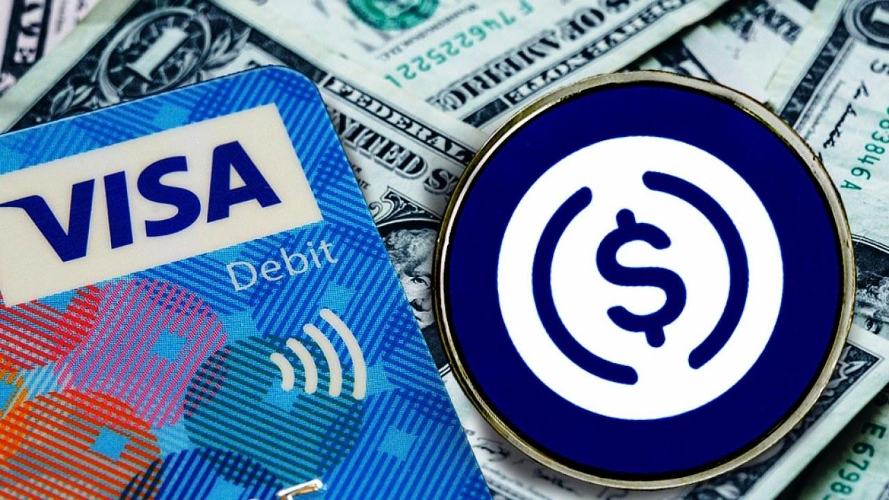 Visa y USD Coin