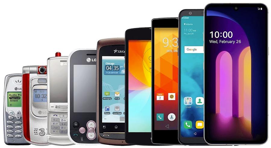 Historia LG Mobile