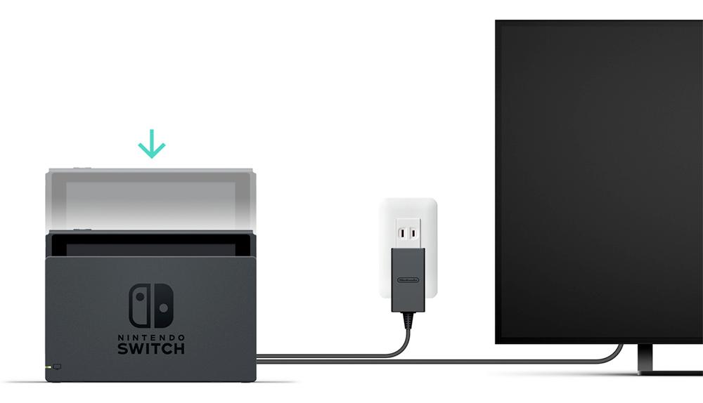 Nintendo Switch al TV