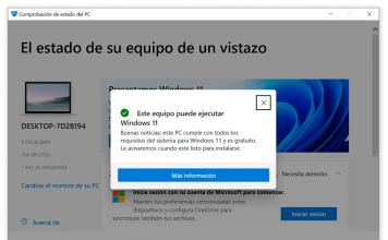 PC compatible Windows 11